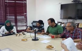 ملتقى الطلبة يوقع اتفاقية شراكة مع مركز الفن الشعبي ومركز العمل التنموي