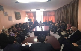 اجتماع الجمعية العمومية لمؤسسة ملتقى الطلبة