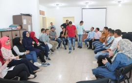 The Students' Forum Institute begins the training course for the formation of the Youth Entrepreneurs in the municipality of Al-Obeidiya