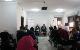 Student's Forum institute organizes a seminar on the postponement of the elections and its impact on youth