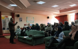 Discussion of a policy paper on the participation of young women: reality and challenges